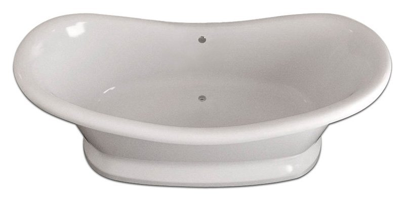 Ванна из литьевого мрамора Фэма Габриэлла 189x87 см (ГАБРИЭЛЛА-POD)