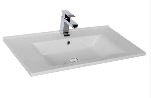 Мебельная раковина Aquanet Atria 9085-KL 85 см