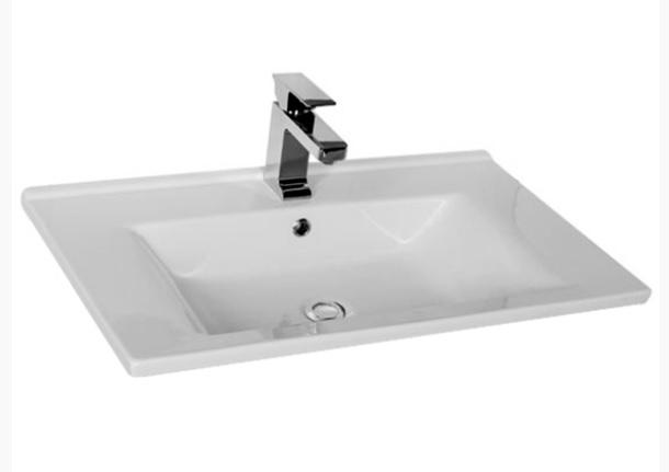 Мебельная раковина Aquanet Atria 9075-KL 75 см