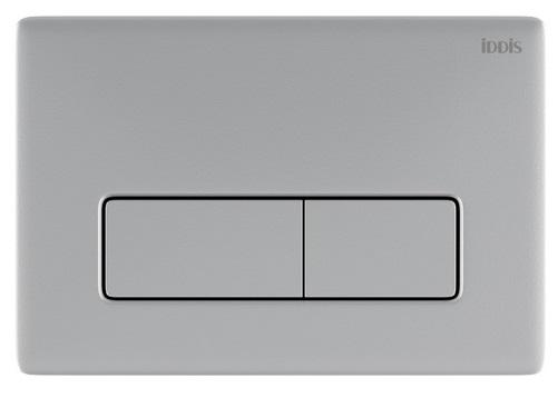 Клавиша смыва IDDIS Unifix универсальная матовый хром 080 (UNI80M0i77)