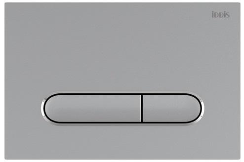 Клавиша смыва IDDIS Unifix универсальная матовый хром 070 (UNI70M0i77)