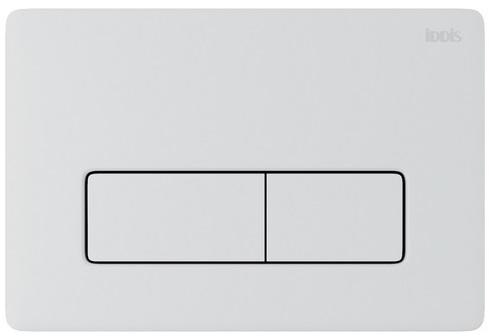 Клавиша смыва IDDIS Unifix универсальная глянцевый белый 010 (UNI10W0i77)
