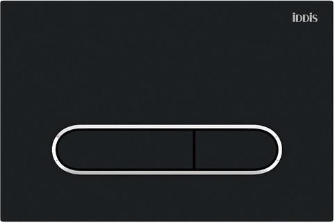 Клавиша смыва IDDIS Unifix универсальная матовый черный 071 (UNI71MBi77)