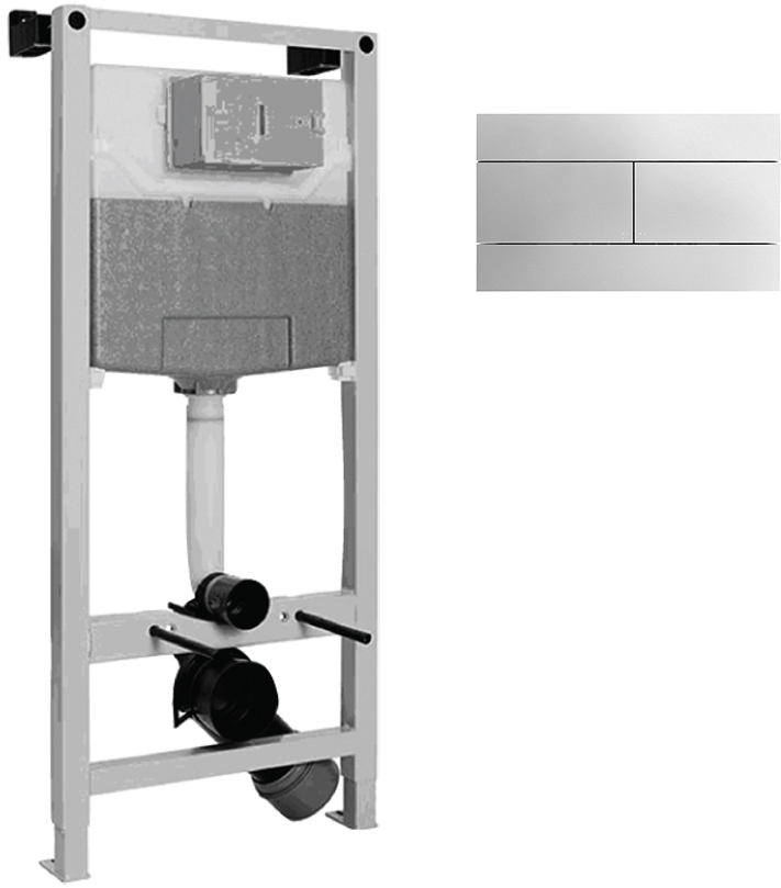Система инсталляции для унитазов Jacob Delafon E21928RU-CP
