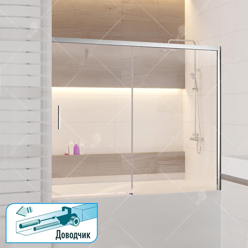 Шторка на ванну RGW SC-45 34114517-11