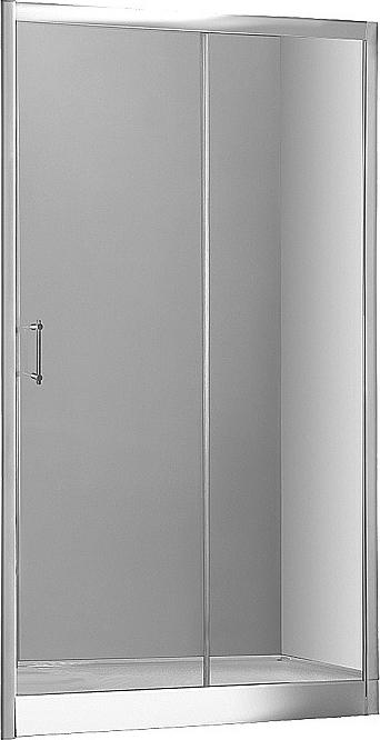 Душевая дверь в нишу Aquanet Alfa NAA6121 1500х2000 стекло прозрачное, профиль хром