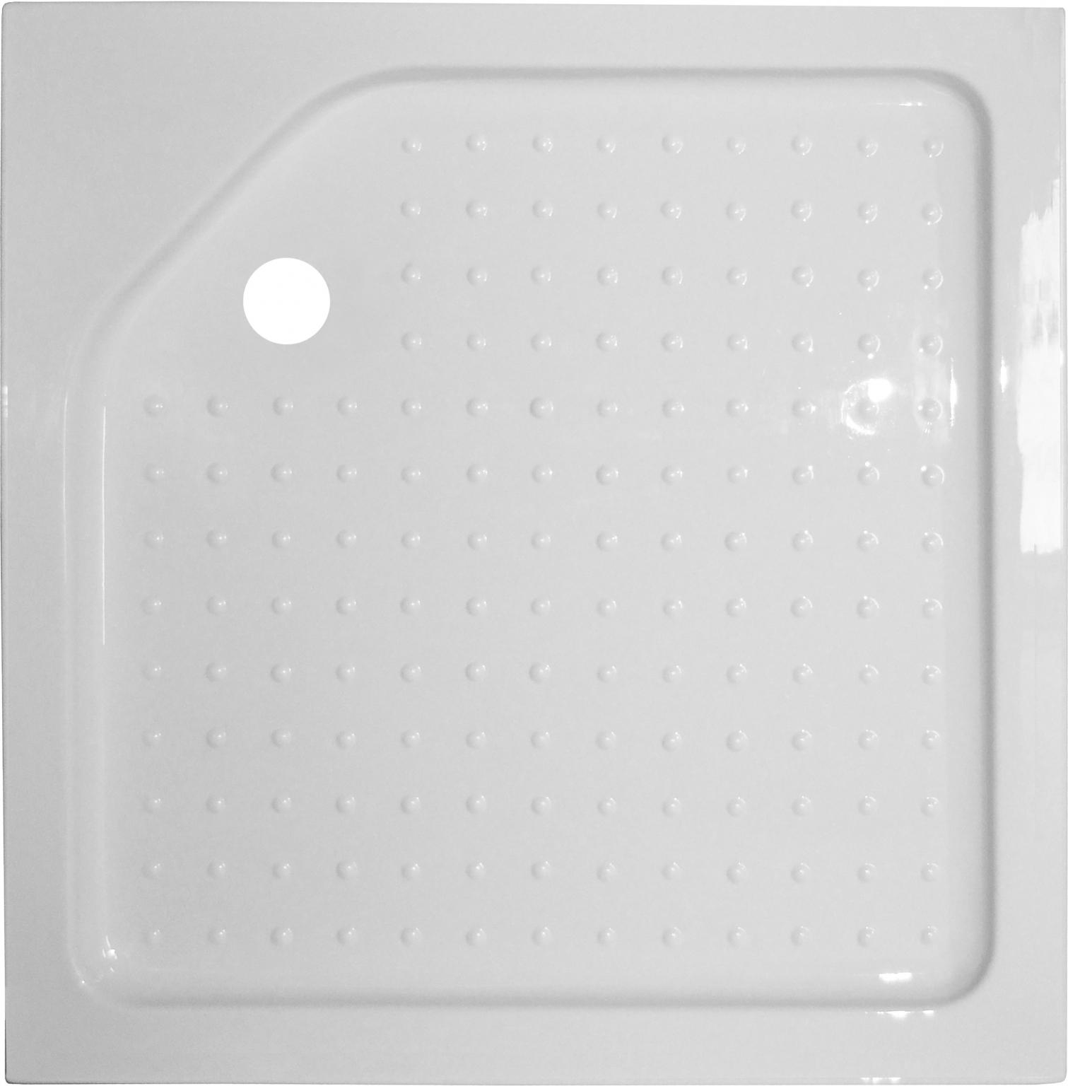 Квадратный душевой поддон Royal bath  80 см (RB 80HP)