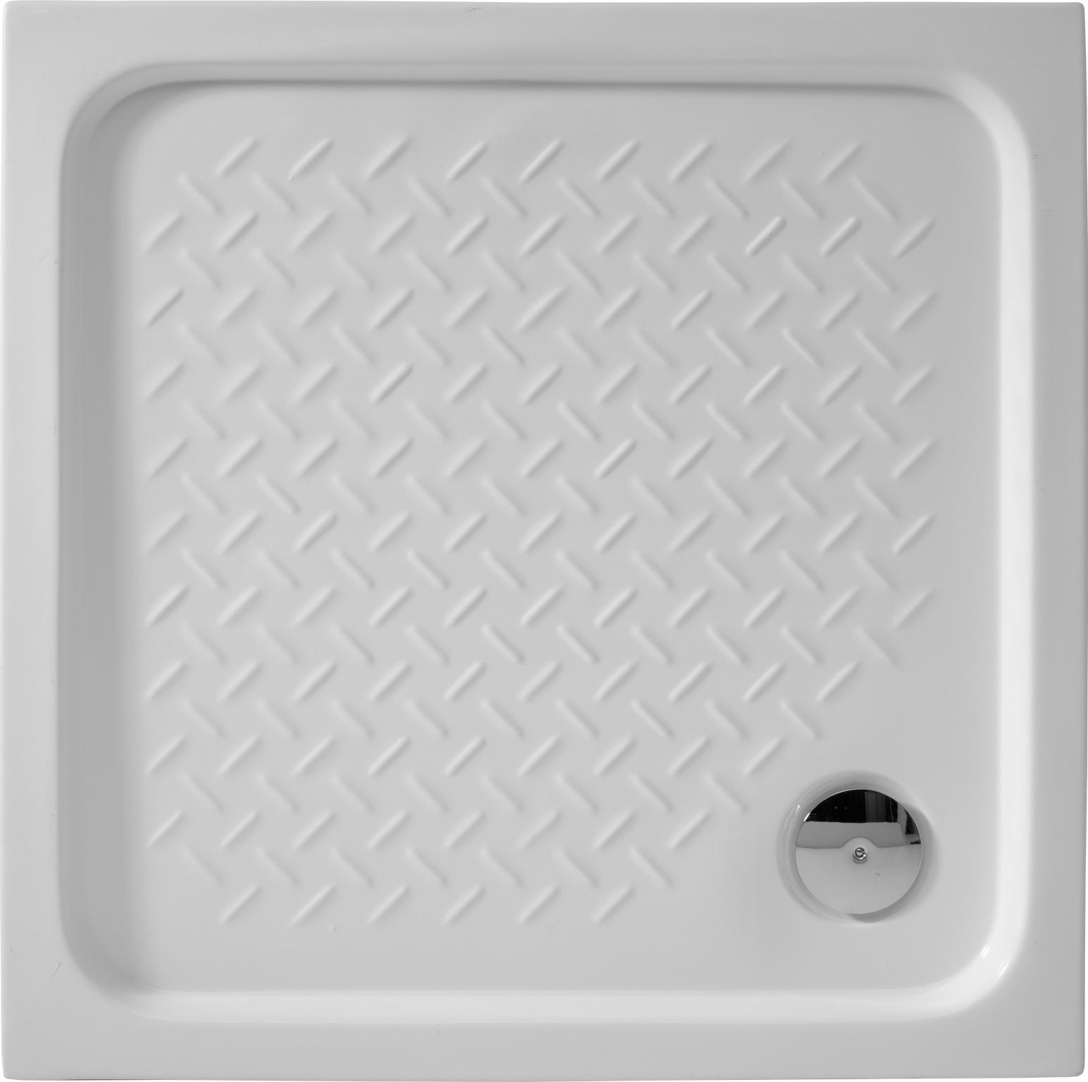 Квадратный душевой поддон De Aqua  80x80 см (MPD8080-4)