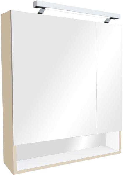 Зеркало-шкаф Roca Gap 80 бежевый
