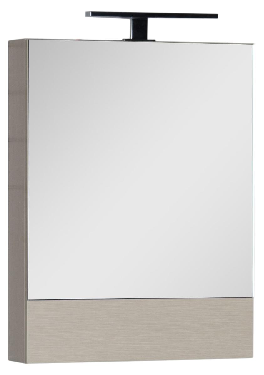 Зеркало-шкаф Aquanet Нота 50 камерино светлый дуб