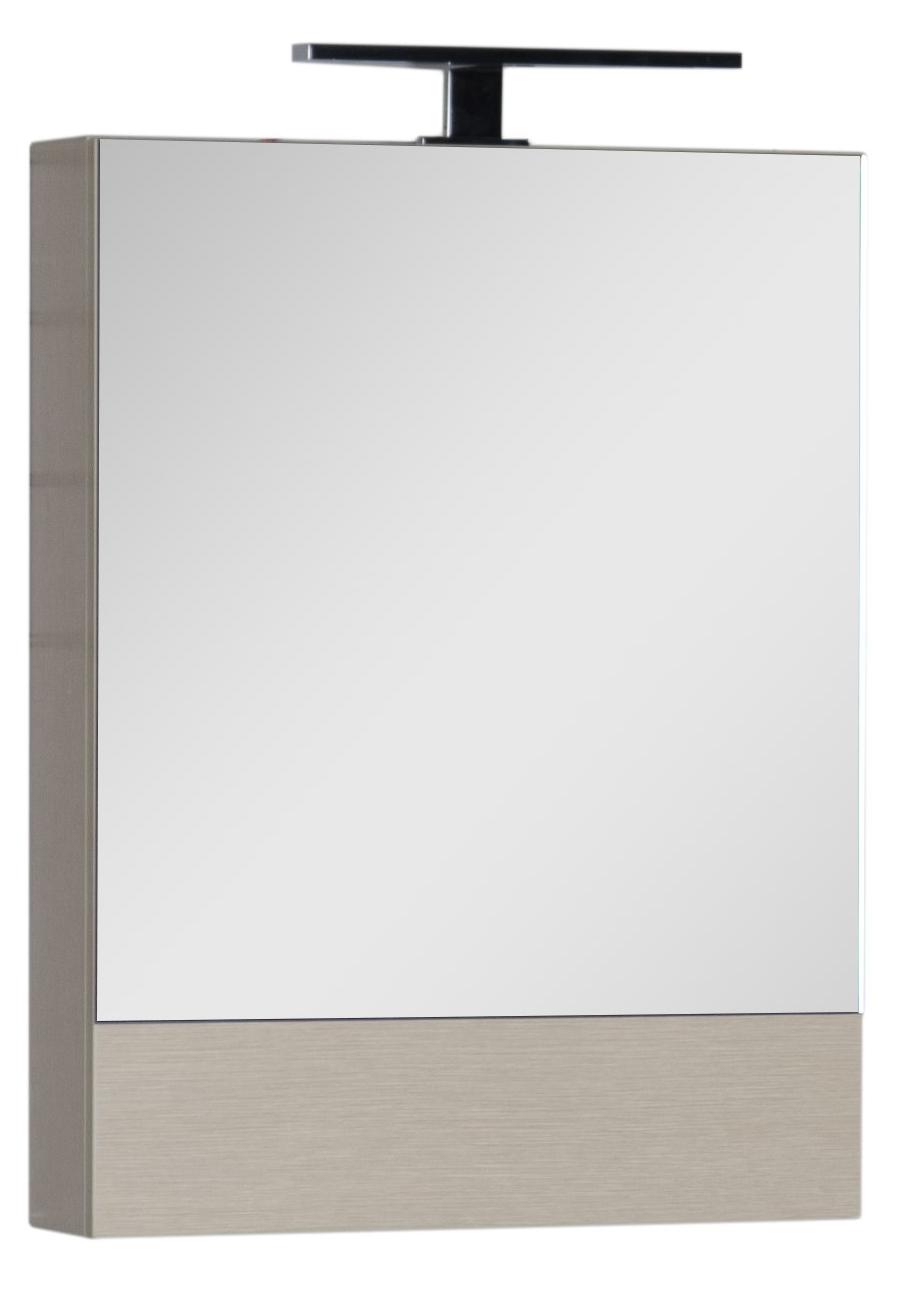 Зеркало-шкаф Aquanet Нота 58 камерино светлый дуб