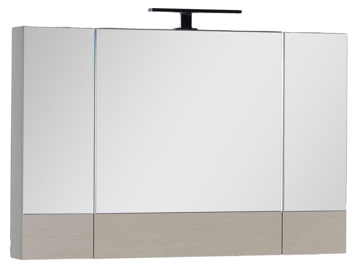 Зеркало-шкаф Aquanet Нота 100 камерино светлый дуб