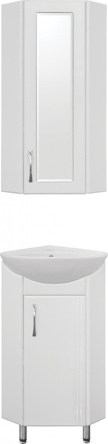 Мебель для ванной Style Line Эко Стандарт Веер 30 угловая, белая