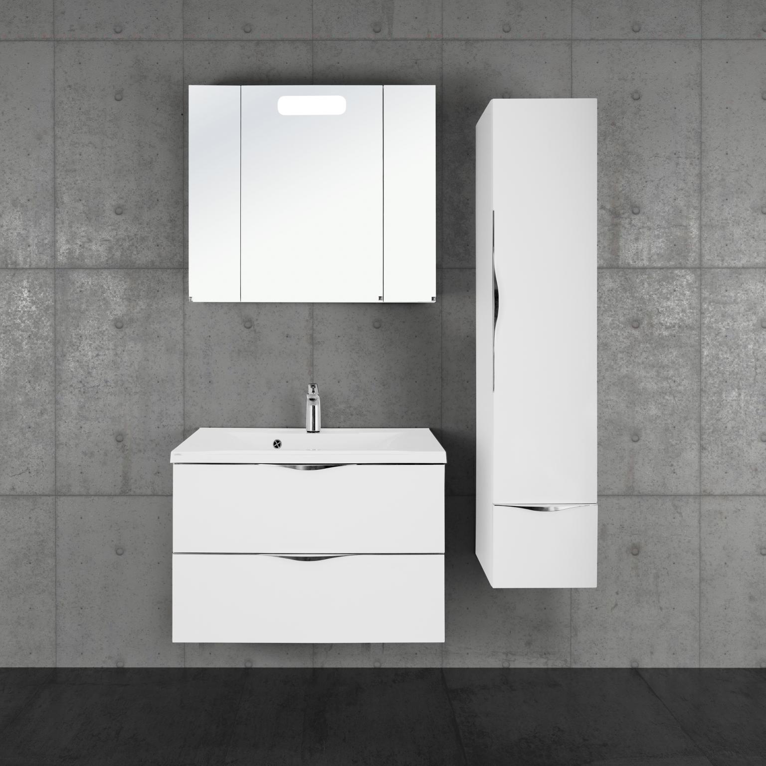 Мебель для ванной Vod-Ok Марко 80 белая