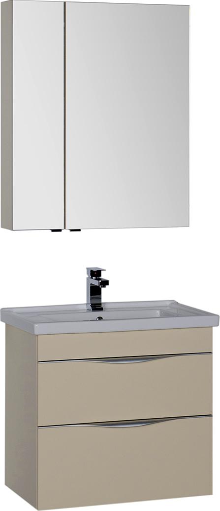 Мебель для ванной Aquanet Эвора 70 сливочная