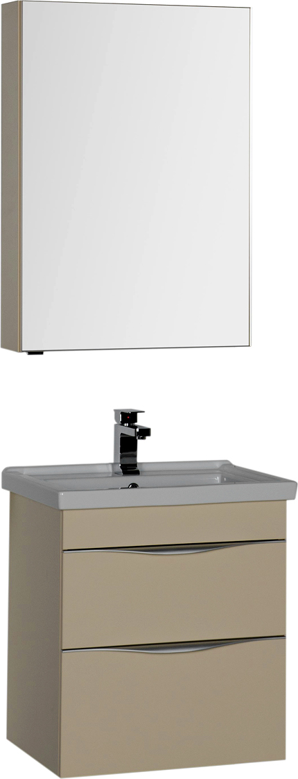 Мебель для ванной Aquanet Эвора 60 сливочная