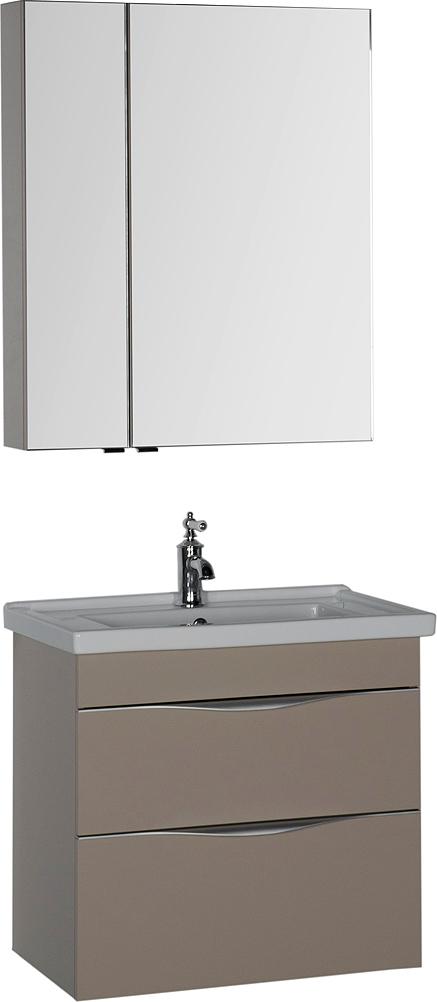 Мебель для ванной Aquanet Эвора 70 капучино