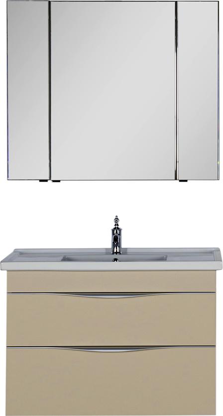 Мебель для ванной Aquanet Эвора 100 сливочная