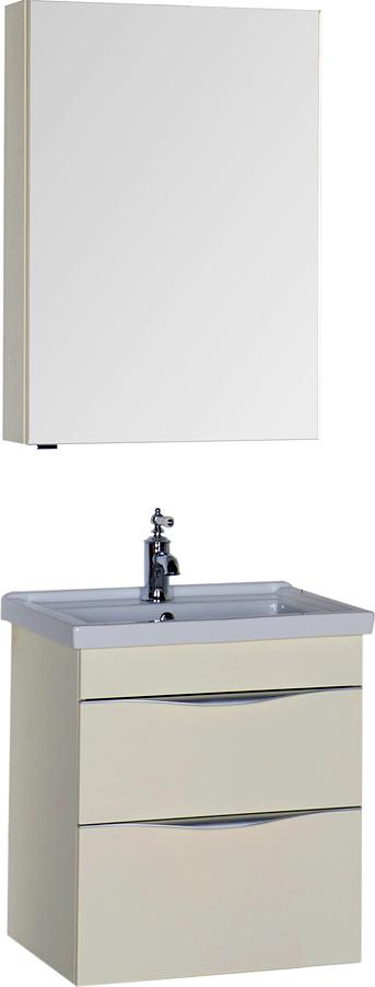 Мебель для ванной Aquanet Эвора 60 крем
