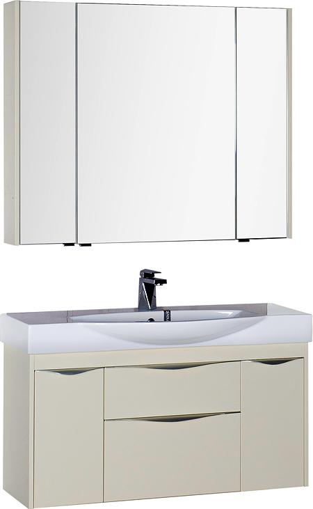 Мебель для ванной Aquanet Франка 105 слоновая кость
