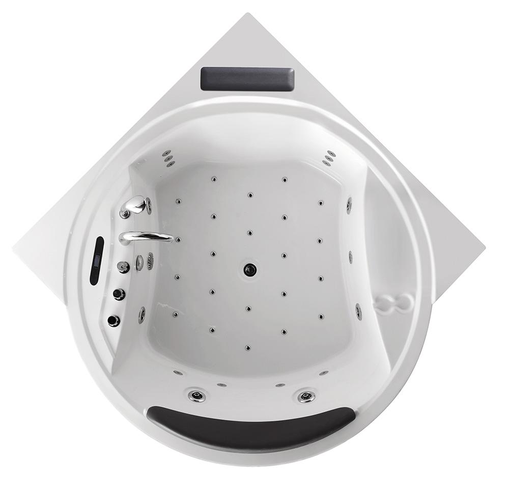 Гидромассажная ванна Gemy  181x181 см (G9071 II K)