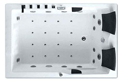 Гидромассажная ванна Gemy  181.5x121.5 см (G9061 K L)