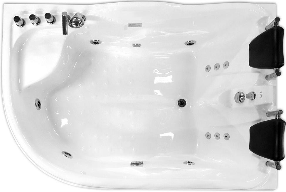 Гидромассажная ванна Gemy  180x121 см (G9083 B R)