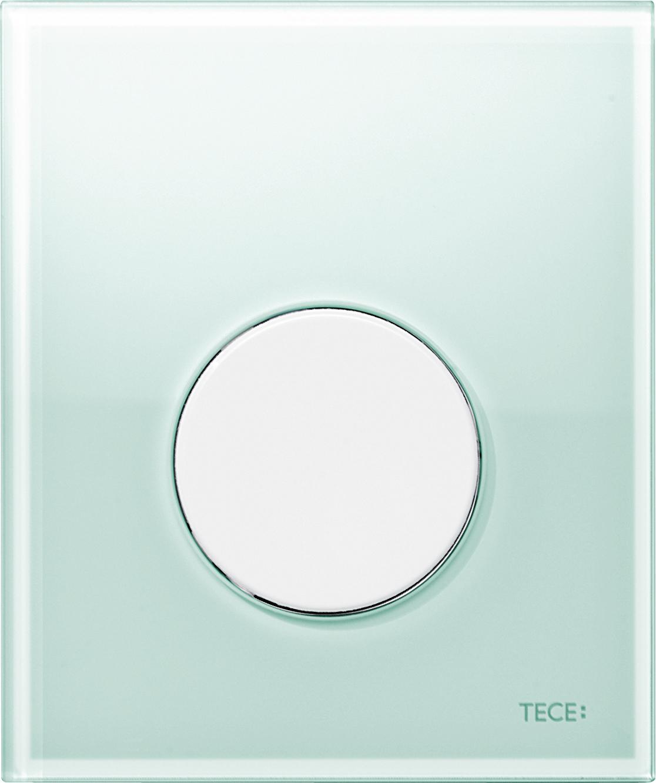 Кнопка смыва Tece Loop белый, зеленый (9242651)