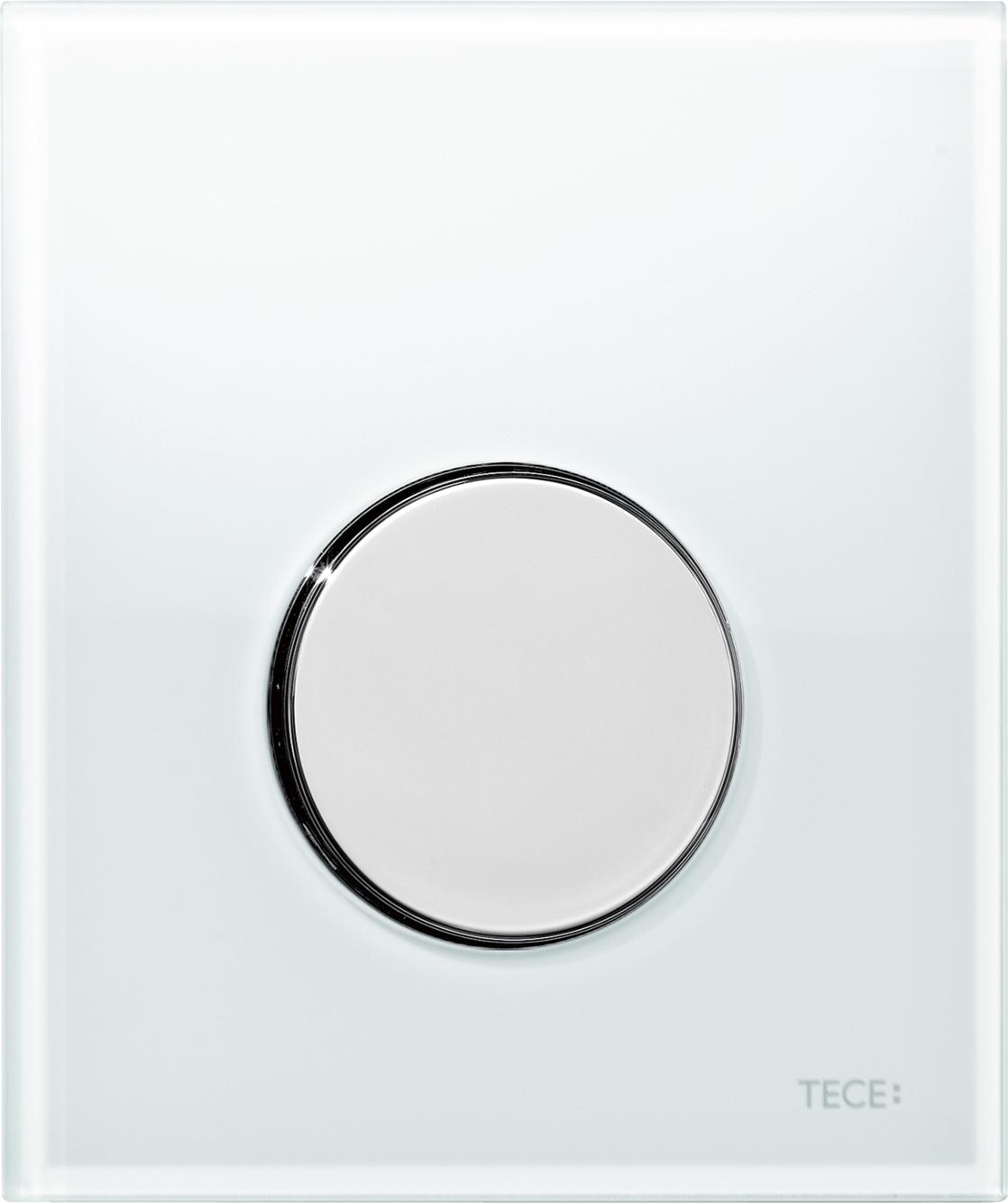 Кнопка смыва Tece Loop белый, хром (9242660)