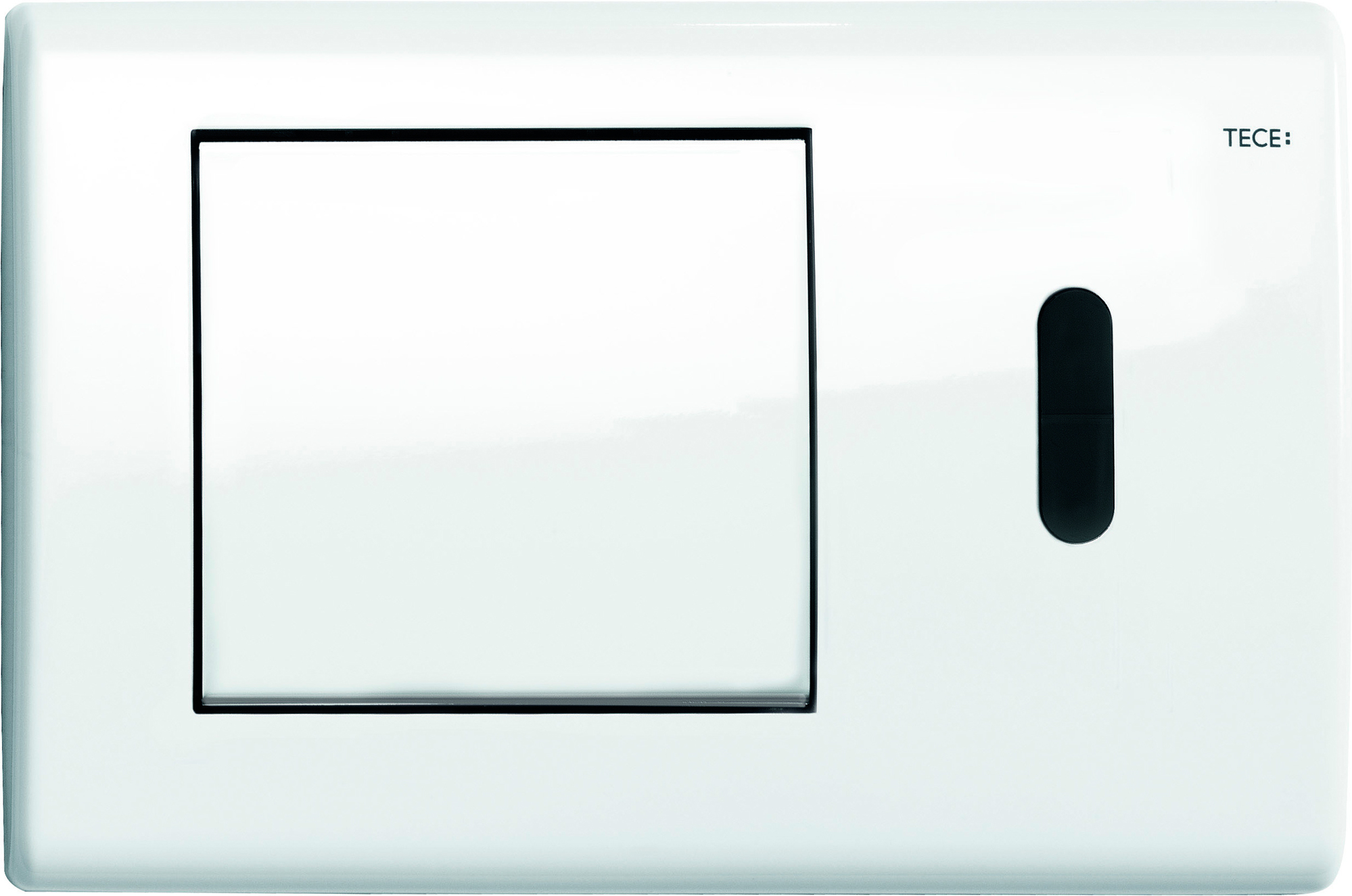 Кнопка смыва Tece Planus белый (9240362)