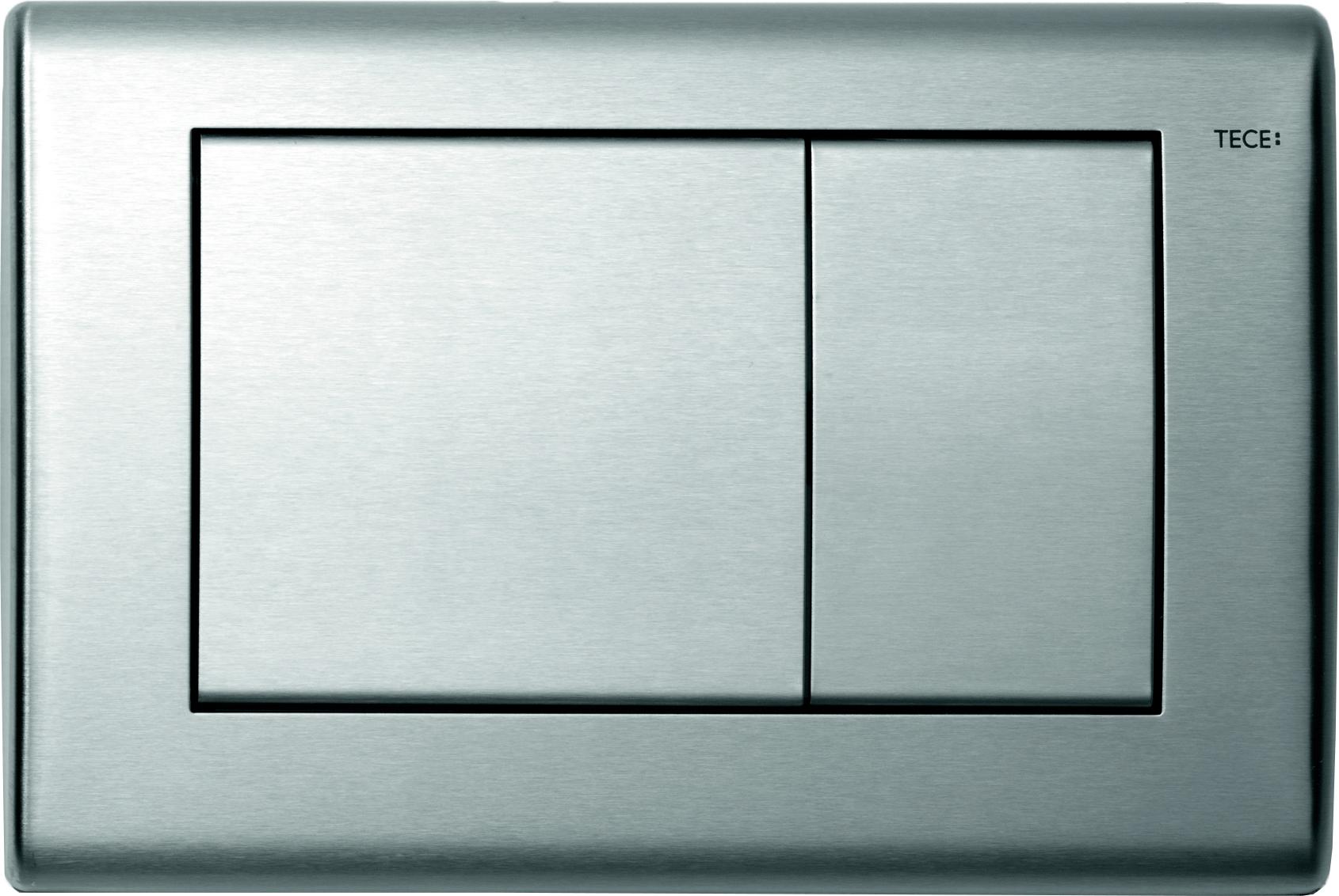 Кнопка смыва Tece Planus сатин, нержавеющая сталь (9240320)