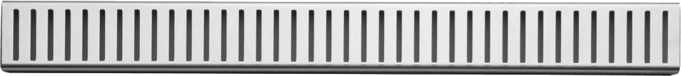 Дизайн-решетка AlcaPlast Pure 94.4 см (PURE-950L)