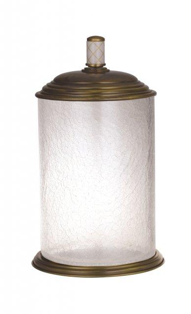 Контейнер для ванной Boheme Murano crystal (10914-CRST-BR)