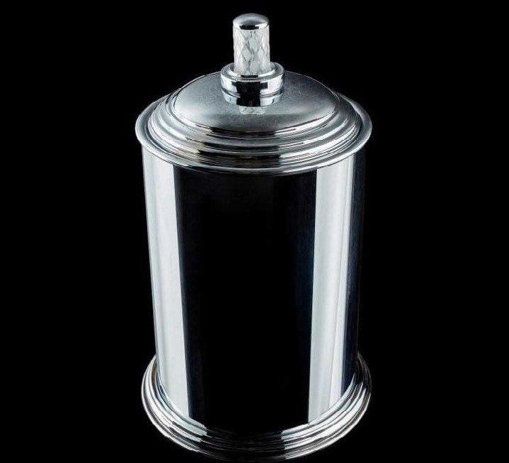 Контейнер для ванной Boheme Murano crystal (10907-CRST-CH)
