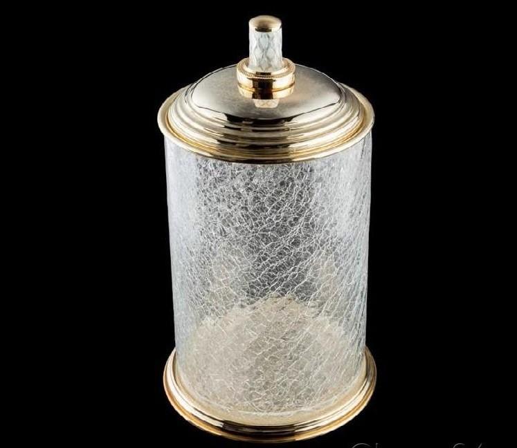 Контейнер для ванной Boheme Murano crystal (10914-CRST-G)