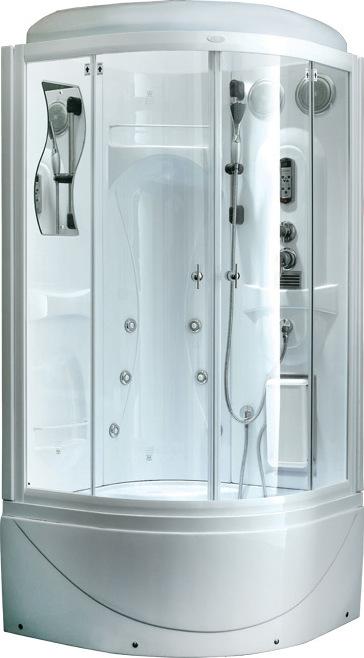 Душевая кабина Aqualux  95x95 см (F128)