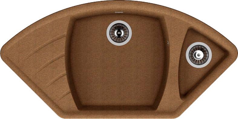 Мойка кухонная Dr. Gans Габи коричневый (25.050.E1015.406)