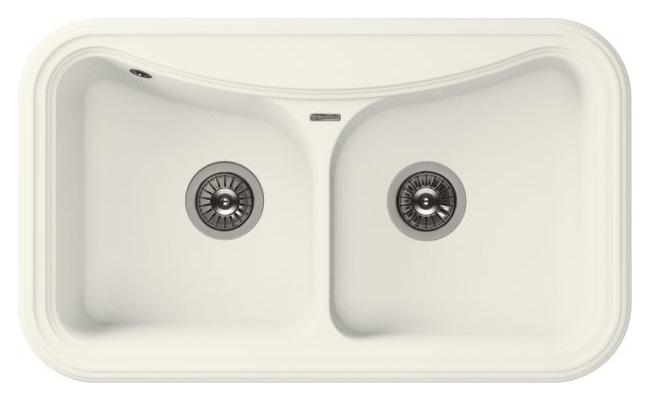 Мойка кухонная Florentina Крит белый (20.115.E0860.201)