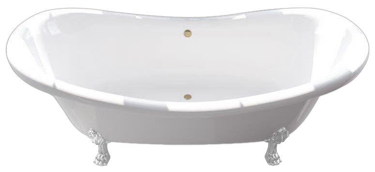 Ванна из литьевого мрамора Фэма Габриэлла 189x84 см (ГАБРИЭЛЛА-BI)
