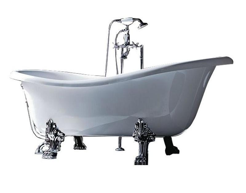 Акриловая ванна Tiffany World  176x80 см (TW176 bi/oro)