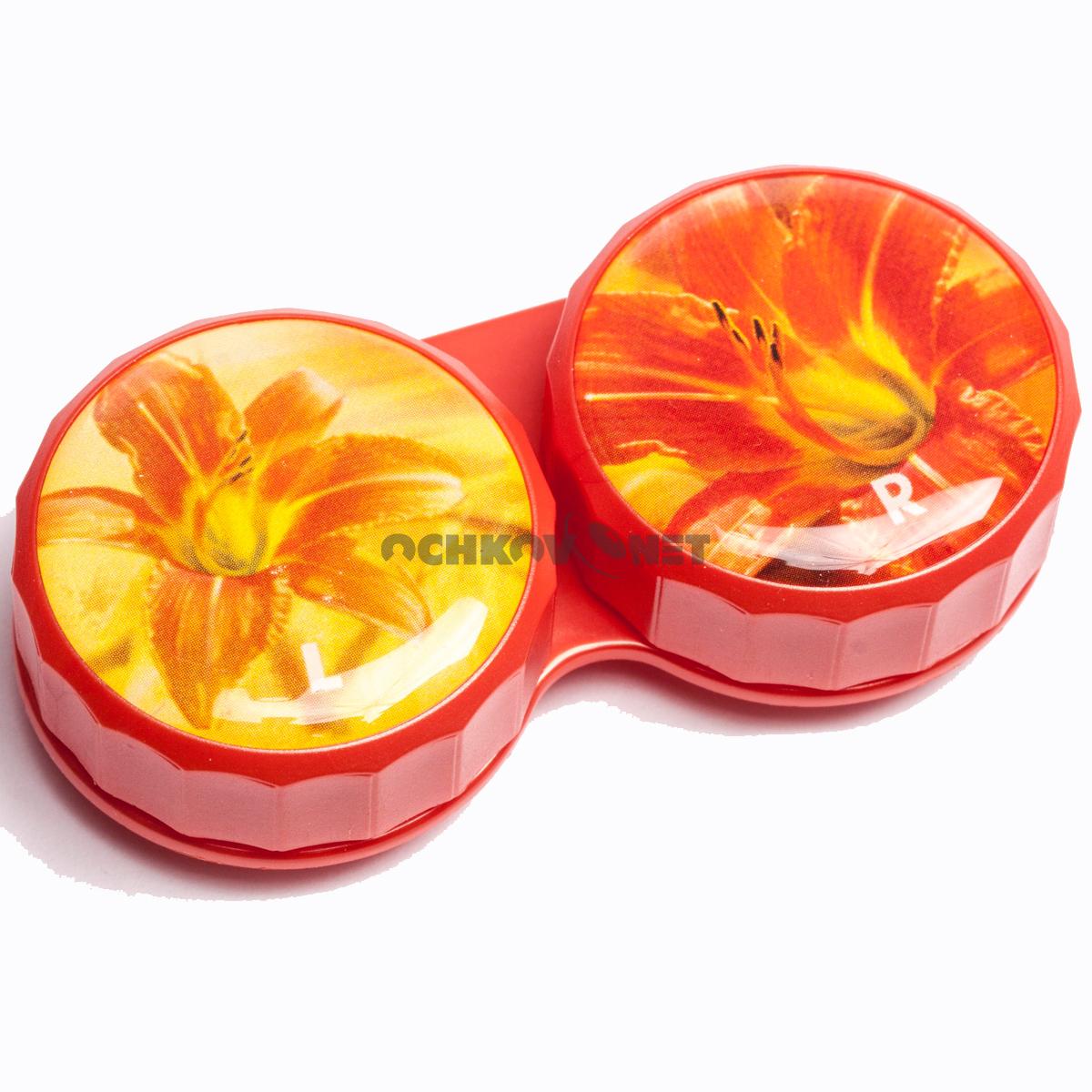 Контейнер Цветы Лилия оранжевая