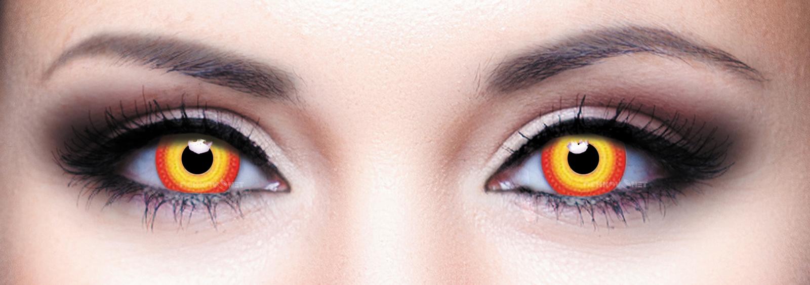 Контактные линзы Eye Free Colors 011 Протуберанец 2 линзы