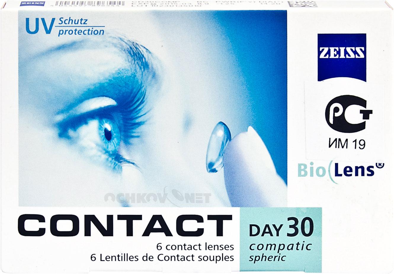 Контактные линзы Contact Day 30 Compatic 6 линз