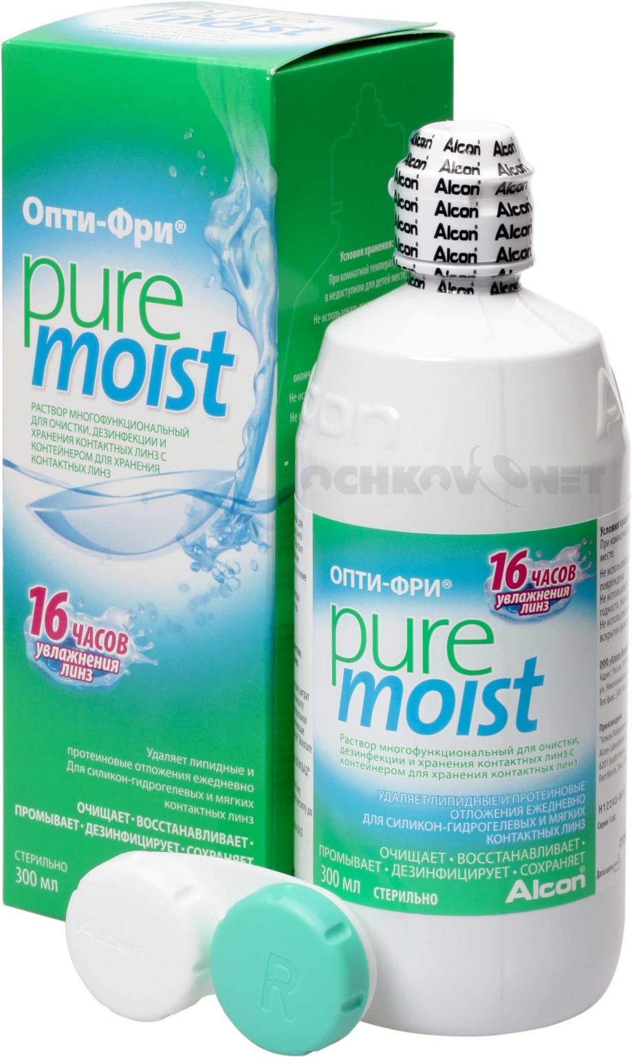 Раствор Opti-Free Pure Moist 300 мл