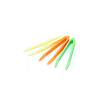 Пинцет цветной маленький (5см)