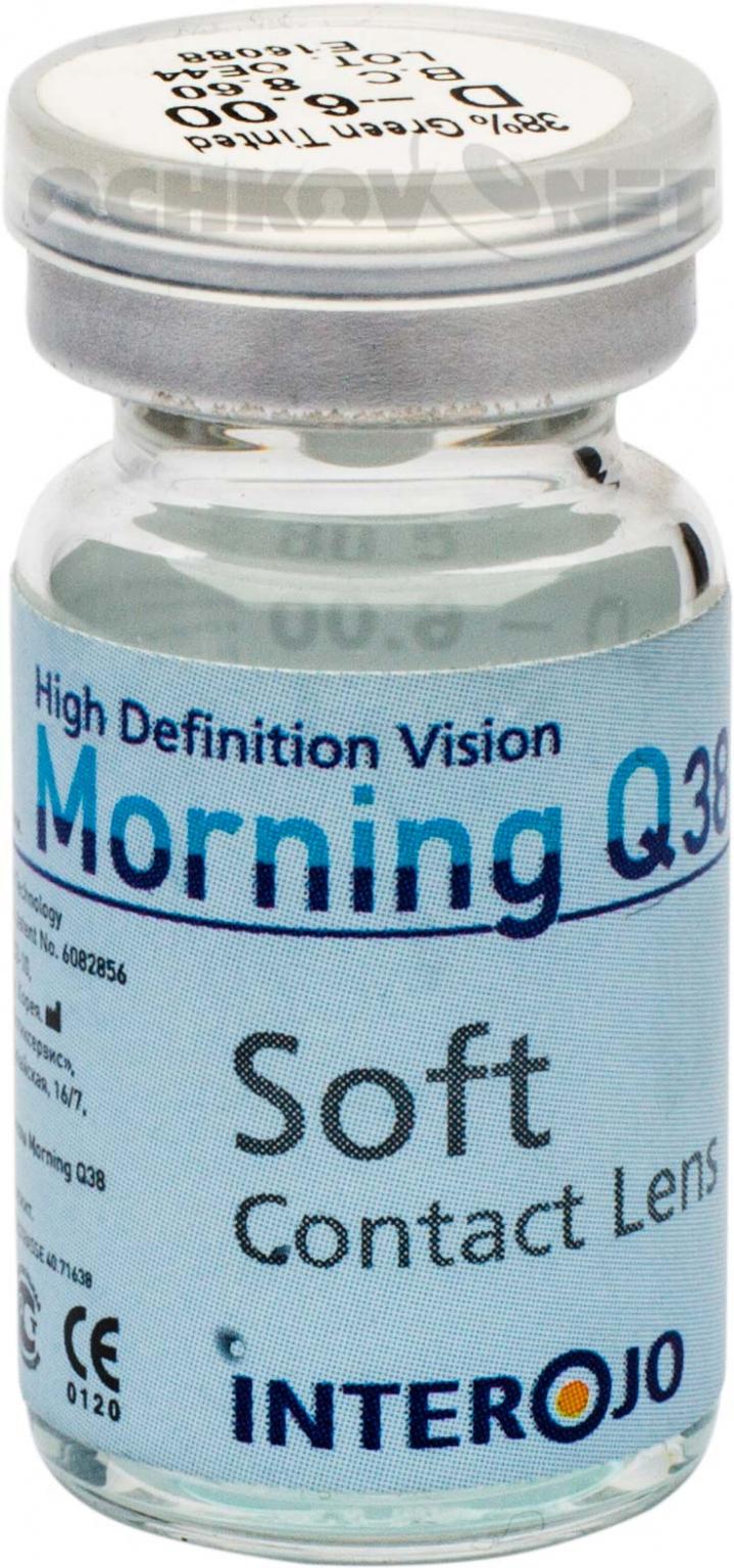 Контактные линзы  Morning Q38 vial