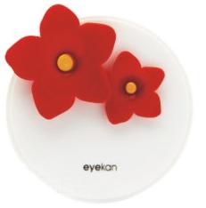 Набор 3 пр. А-8063-1 Белый с красными цветами № 15