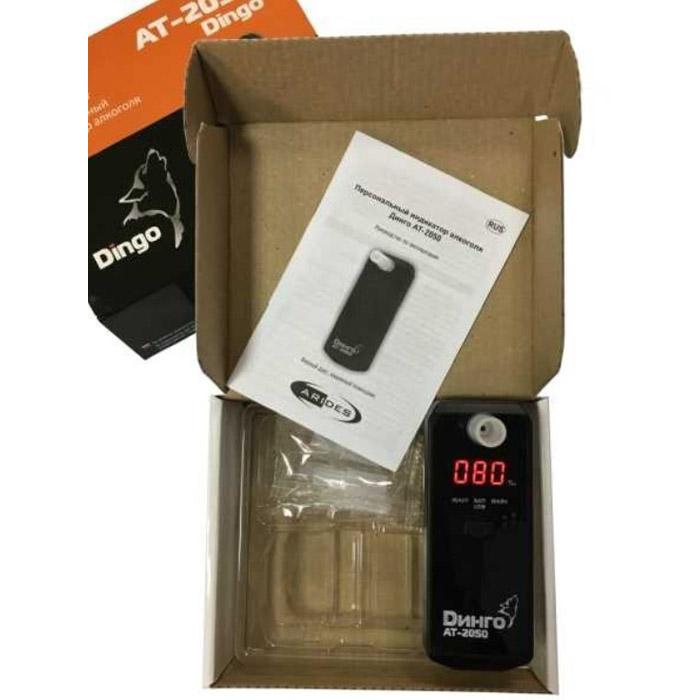 Алкотестер Динго АТ-2050 (+ Антисептик-спрей для рук в подарок!)