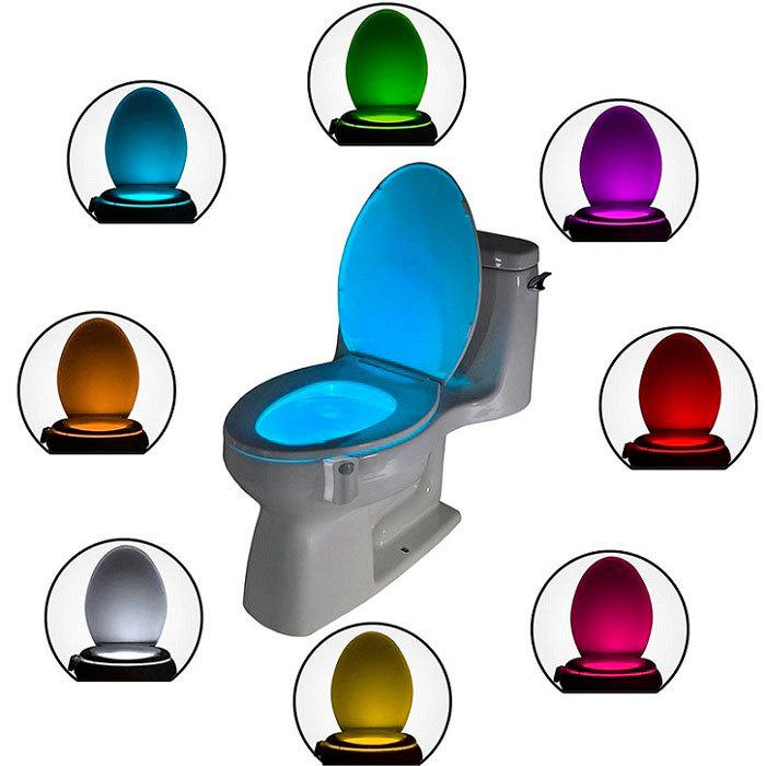 Ночная смарт-подсветка LED для унитаза LightBowl (8 цветов)