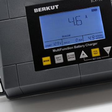 Автоматическое зарядное устройство с диагностикой АКБ BERKUT BCA-10 (+ Антисептик-спрей для рук в подарок!)
